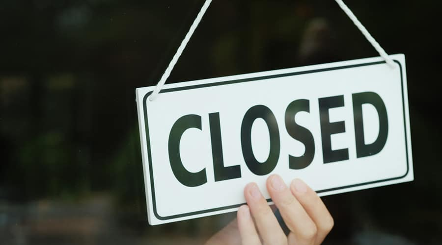 facility closure