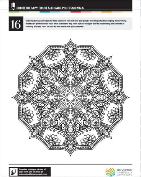 Art Therapy #9 (Relaxation) – Printable coloring pages | 600x478