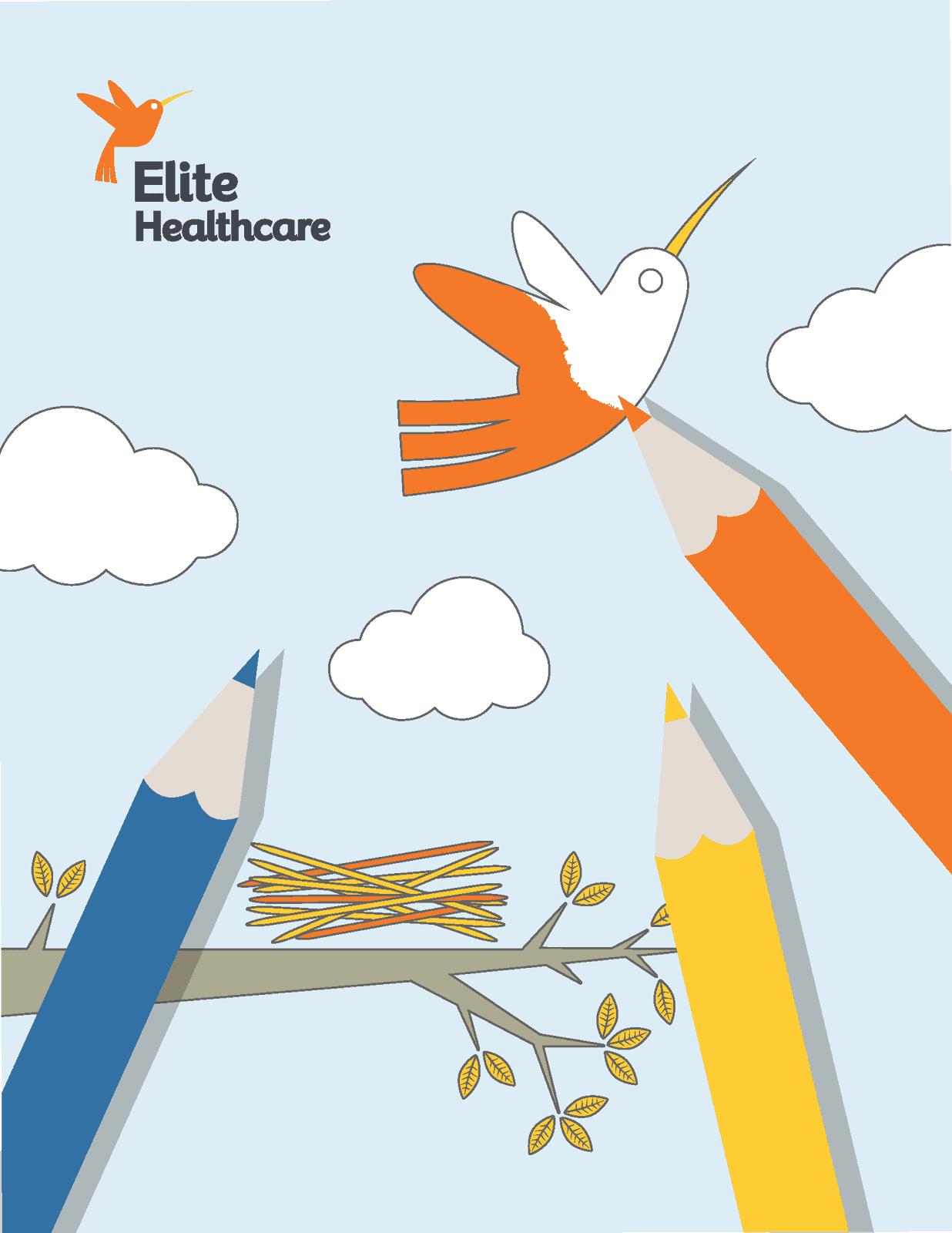 Elite Healthcare Coloring Book