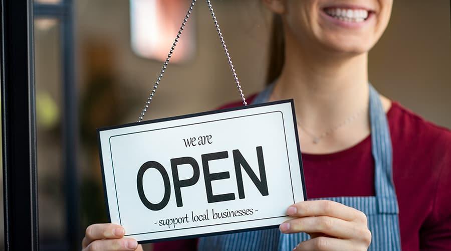 Reopening During