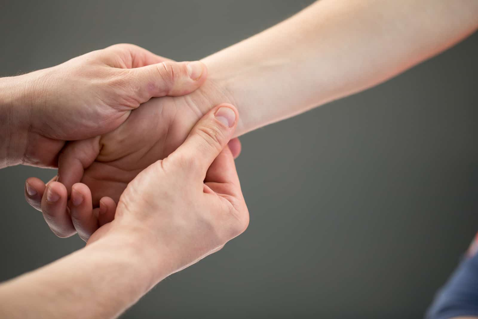 Woman Having Myofascial Release Therapy To Prevent Hand Tightness