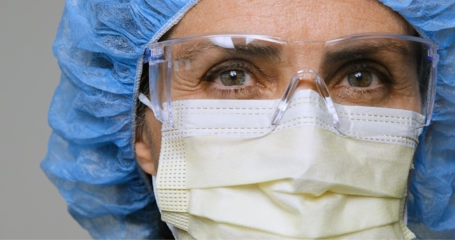 Nurse faces workplace stress during COVID-19 pandemic